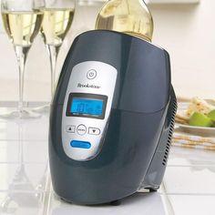 Quickly chill and serve your favorite wine. HELLO wine friends!!