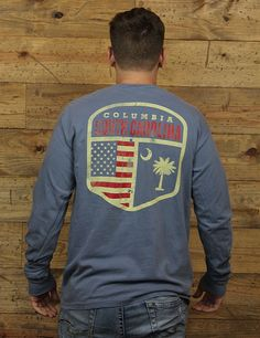 Check out this NEW Comfort Colors long-sleeve with Columbia, South Carolina!