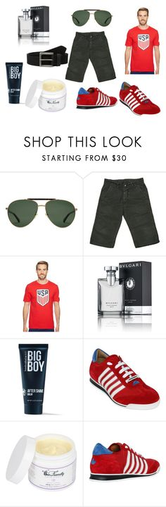 """""""Man"""" by mesacile ❤ liked on Polyvore featuring Gucci, Rick Owens, NIKE, Bulgari, 21 Men, Dsquared2, Timberland, men's fashion and menswear"""