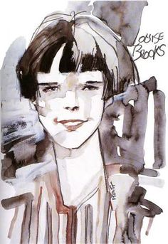 "annmi: "" ""Louise Brooks"" by Hugo Pratt This is one of my favorite comic book artists… and I've not delved anywhere near deep enough into his books yet! Hugo Pratt's official pages here:. Louise Brooks, Lost Girl, Comic Book Artists, Comic Artist, Maltese, Illustrations, Illustration Art, Hugo Pratt, Jordi Bernet"