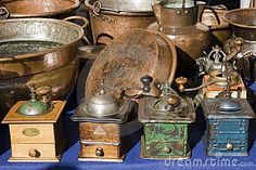 Old coffee grinder by Dbdella, via Dreamstime