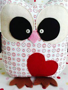 Owl Cuddle Pillow Cushion