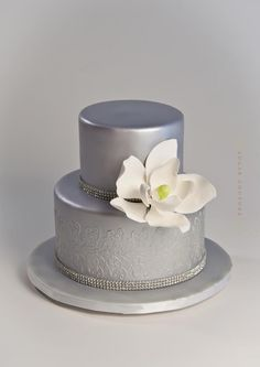 silver wedding cakes ideas 1000 images about anniversary ideas on 19886
