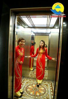 thang máy tại khách sạn 69 sầm sơn