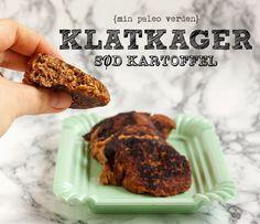 Min paleo verden: Klatkager med sød kartoffel