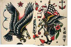 Classic Old School Tattoos