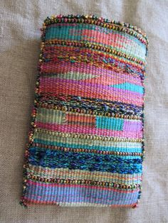 A Word From Elena: Weave-Along 7: Finishing Your Purse