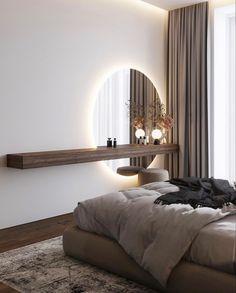 Interior Design Magazine, Interior Design Inspiration, Decor Interior Design, Interior Ideas, Interior Decorating, Small Apartment Interior, Modern Master Bedroom, E Room, Little Houses