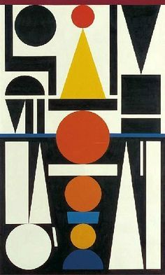 Auguste Herbin - Still Life Quick Heart 1951