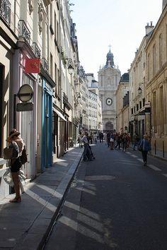 Le Marais, Rue de Sévigné, Paris III