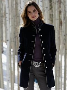inga loden jacket in Winter 2013 from Gorsuch on shop.CatalogSpree.com, my personal digital mall.