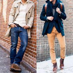 A melhor maneira de usar bota?Enfiar no pé e sair por aí. Ela combina com praticamentequalquer look de outono/inverno. Mas há alguns visuaisquesão simp