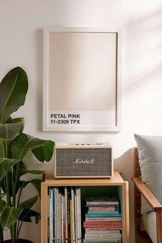 Honeymoon Hotel Petal Pink Art Print - Urban Outfitters