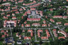 ullevål hageby City Photo, Architecture, Garden, Projects, Photo Illustration, Arquitetura, Garten, Gardening, Architecture Illustrations