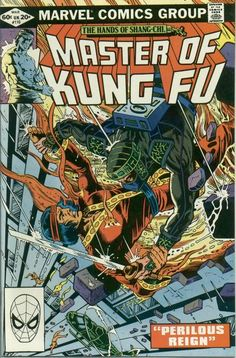 Master of Kung Fu # 110 by Gene Day