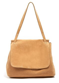 THE ROW Sidekick suede shoulder bag