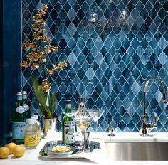 The Art of the Beautiful Backsplash: 25 Kitchen Inspirations via Brit + Co