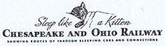 Chessie - logo of the Chesapeake and Ohio Railway