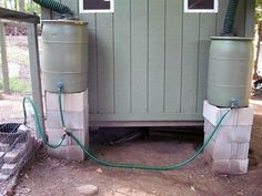 How To Make A Rainwater Automatic Chicken Waterer