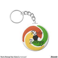 Rasta Energy key chain