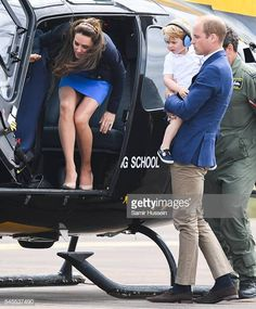 Catherine, Duchess of Cambridge, Prince George of Cambridge and Prince William, Duke of Cambridge sit in a helicopter as they attend the The Royal International Air Tattoo at RAF Fairford on July Get premium, high resolution news photos at Getty Images Kate Middleton Bikini, Kate Middleton Rock, Kate Middleton Skirt, Kate Middleton Family, Kate Middleton Prince William, Kate Middleton Photos, Prince William And Kate, George Of Cambridge, Duchess Of Cambridge