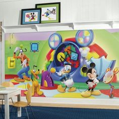 b9a6853f013 Mickey Mouse Clubhouse Capers XL Wallpaper Mural 10.5  x 6