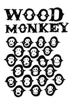 Wood Monkey – NaNé Art & Prints