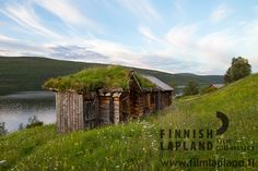 Utsjoki church cottages at summer in Utsjoki, Finnish Lapland. Photo by Terhi Tuovinen. Filming Locations, Barns, Arctic, Finland, Cottages, Wilderness, Houses, Mountains, Summer