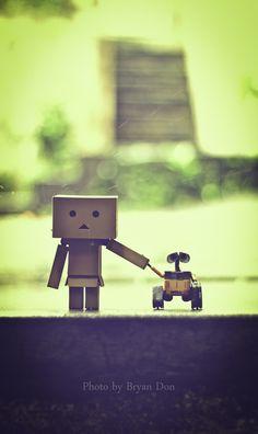 Danbo & Wall-E