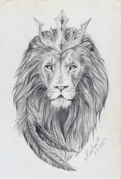 Tattoo Design - Lion King by MiraelFae.deviantart.com on @DeviantArt