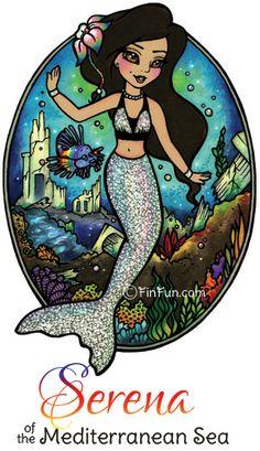 Fin Fun Mermaid Tails for swimming! Dream come true! | Kid ...