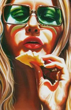 Artwork and paintings paintings by uk artist steve smith. Steve Smith, Sexy Painting, Photorealism, Andy Warhol, Art Images, Amazing Art, Awesome, Cool Art, Original Paintings