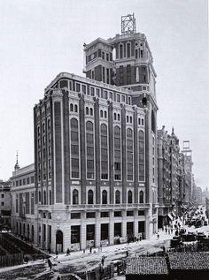 1930.Palacio de la Prensa. Imágenes del viejo Madrid