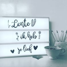 Licht Box, Spring Quotes, Light Board, Light Letters, Happy House, Short Quotes, Powerful Words, New Room, Letter Board