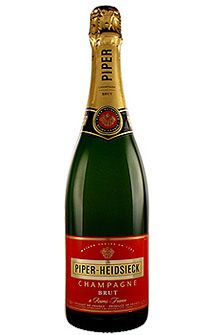 Piper-Heidsieck Cuvée Brut Champagne, $79.00 #champagne #gifts #1877spirits