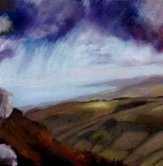 Looking to Wicklow Head from the Sugar Loaf Mountain by John O'Grady