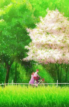 Anime Couples Drawings, Anime Couples Manga, Couple Drawings, Cute Anime Couples, Pretty Art, Cute Art, Couple Illustration, Illustration Art, Animated Love Images