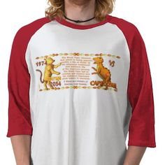 ValxArt 1974 2034 Chinese zodiac wood tiger people T Shirt  by valxart.com for $21.95 Valxart has many Zodiac designs including 12 zodiac, 12 zodiac cusp , 60 years of chinese zodiac , and 780 designs for 60 years of Chinese year zodiac combined with 12 zodiac designs with horoscope forecast . If you do not see the product, year or zodiac sign desired, contact Valxart at info@valx.us for links to desired products