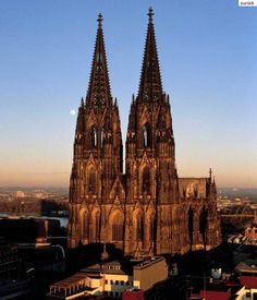 Cologne Cathedral (German: Kölner Dom)is a Roman Catholic church in Cologne, Germany. The cathedral, constructed between 1248 and It was the most beautiful structure I've ever seen Cathedral Architecture, Sacred Architecture, Amazing Architecture, Friedrich Wilhelm Iv, Cologne Germany, Beautiful Buildings, Kirchen, World Heritage Sites, Oh The Places You'll Go