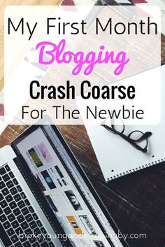 Thinking about starting a blog? I'm giving you a look into what I did my first month blogging!