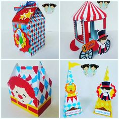 This Ice Cream Parlor Birthday Will Melt Your Heart Birthday Cards For Brother, Girl Birthday Cards, Birthday Diy, Birthday Greeting Cards, Carnival Birthday Parties, Circus Birthday, Circus Theme, Circus Party, Circus Decorations