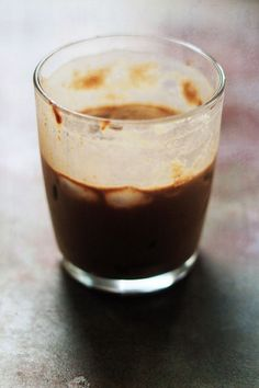 CREAMY NUT CAFÉ..                Ingredients: 1 coffee K-cup 1 hazelnut creamer packet 1 plain creamer packet Directions: Brew the K-cup on the medium mug setting. Stir in the creamers and serve.
