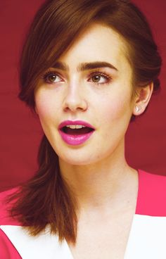 Lilly Collins ♥ kind of obsessed with her right now