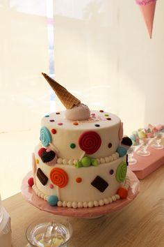 #albabasweets #cake #display #icecream
