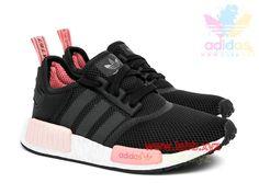 Adidas Originals Femme Chaussures Runner NMD_ R1 Peach Pink S75234
