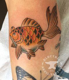 Josh Egnew. Electric Anvil Tattoo. Brooklyn, NY.