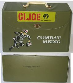 GI Joe Combat Medic Bag Hasbro Vintage Canadian Scarce