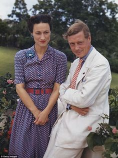 A new Channel 5 documentary claims that Wallis Simpson (pictured in 1942) was the victim o...