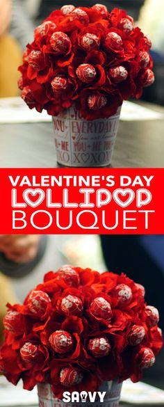 Valentine's Day Lollipop Bouquet!