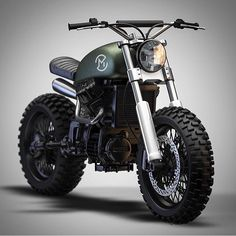 Honda CX500 Tracker Concept Fit To Climb A MountainLTmoto